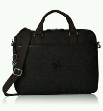 Kipling Works Kaitlyn computer Dazz black laptop work messenger bag Rrp. £74 NEW