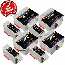 8 Pack 10XL Compatible Ink Set For Kodak ESP 3 5 7 9 5210 7250 3250 5250 9250