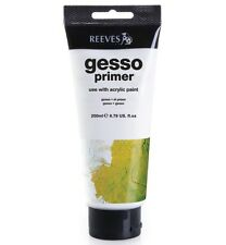 Reeves White Gesso Primer - 200ml Tub