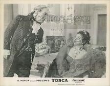 Scene From Puccini's Tosca Sol Hurok Movie Press Photo