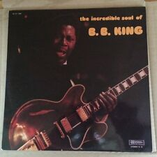 B.B. King - the incredible soul of, Musidisc 30CV1309, Fr, NM-/EX+ rare LP