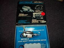 Skymax.13 HP direct drive Electric motor 4000 recharge 1200 8 cell battery #4035