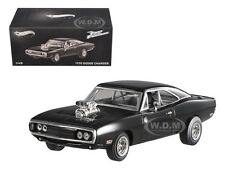 """1970 DODGE CHARGER ELITE """"THE FAST & FURIOUS MOVIE 2001 1/43 BY HOTWHEELS BLY27"""