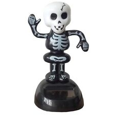 NOVELTY SOLAR POWERED DANCING SKELETON, DASHBOARD TOY, HOME OR CAR