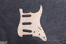 New Electric Guitar Pickguard flame Maple wood SSS Strat Guitar parts #1897