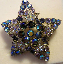 KIRKS FOLLY PURPLE STAR PIN NWT