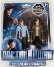 DOCTOR WHO : THE ELEVENTH DOCTOR'S CRASH SET ACTION FIGURE SET BY CHARACTER (TK)