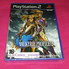 VALKYRIE PROFILE 2 SILMERIA SONY PS2 NEUF SOUS BLISTER VERSION 100% FRANCAISE