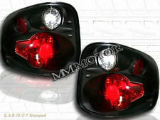 2001-2003 FORD F150 F-150 FLARESIDE TAIL LIGHTS BLACK 2002
