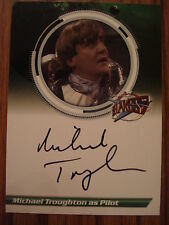 BLAKES 7 - SERIES 2: AUTOGRAPH CARD: MICHAEL TROUGHTON AS PILOT S2MT