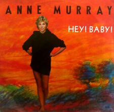 """7"""" 1982 CV BRUCE CHANNEL ANNE MURRAY : Hey Baby /MINT-"""