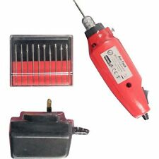 MINI Engraver INCISIONE KIT per le imbarcazioni vetro ceramica metallo MACHINE Drill TOOL NEW