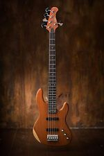Wolf 5 string Jazz Bass Solid Bubinga Top [neck through]