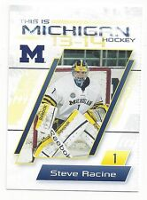 2013-14 Michigan Wolverines Steve Racine (goalie)