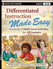 Differentiated Instruction Made Easy: Hundreds of Multi-Level-ExLibrary