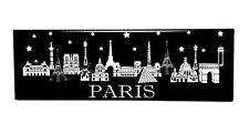 Magnet - Famous Landmarks of Paris France in a Skyline Format - Horizontal Image