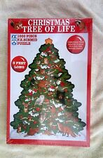 FX Schmid 1000 PC Christmas Puzzle Christmas Tree of Life Shaped Puzzle New