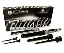 Royale Duet Set-100% Ceramic Hair Straightener & 3P Pro Curler/Wand-Zebra