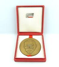 #e4391 Bronze Medaille & Anstecknadel Ludowe Wojsko Polskie - Julian Malchewski