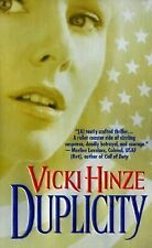 Duplicity, Hinze, Vicki, Good Book