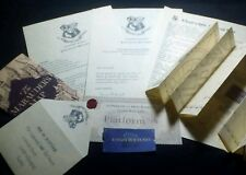 Personalised Hogwarts Acceptance letter gift set Harry Potter Marauder's Map