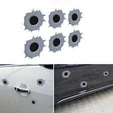 Bullet Hole Shot Hole Sticker Funny Decal For Car Laptop Window Mirror Vivid