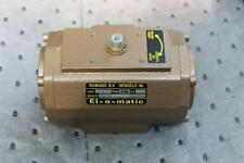 EL-O-MATIC  PNEUMATIC ACTUATOR  EL O MATIC  TYPE PD 3.5 120 PSI