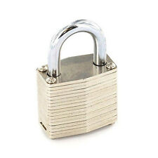 Weatherproof Laminated 50mm Steel Padlock Key Gate Door Shed Cylinder Lock