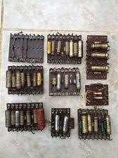 Colección de condensadores Vintage piezas de electrónica de las placas de circuito-Repuestos