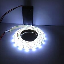 Camping / Night Fishing Super Bright 9V Battery LED Strip 0.5M Waterproof