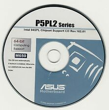 ASUS P5LD2 or P5LD2 DELX R2.0 Motherboard Drivers Installation Disk M650