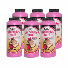 6 Pack LADY Anti Monkey Butt Powder w/ Calamine Powder 6oz