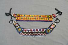 Kuchi Afghan Belt 2x Banjara Tribal Handmade Beads Cowry Shell Wholesale Lot-40
