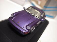 Minichamps Paul's Model Art Blue Porsche 911 Carrera 2/4 Coupe 1992 1:43 NIB