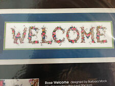 Dimensions 1434 Rose Welcome Ribbon Embroidery Gallery Collection Kit  NIP