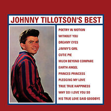 Johnny Tillotson - Johnny Tillotson's Best CD