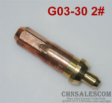 G03-30 2# Oxygen Propane Cutting Welding Torch Tip