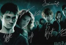 HARRY POTTER DANIEL RADCLIFFE MULTI SIGNED 12x8 INCH / A4 SIZE LAB PRINTED PHOTO