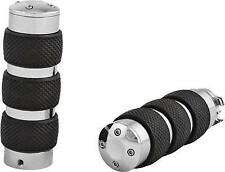 HARDDRIVE GRIPS NOVIBE FITS 76-08 DUAL CABLE SLEEVE CHROME PART# H17-0594 NEW