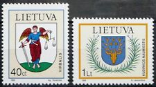Lithuania stamps - Coats of Arms 1995 - MNH.
