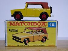 Matchbox Lesney No.18e Field Car In Type F2 Series Box (SILVER BASE MINT MODEL)