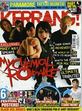 Kerrang Magazine issue 1509 MY CHEMICAL ROMANCE PARAMORE BLACK VEIL BRIDES