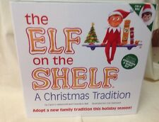 Authentic The Elf on the Shelf A Christmas Tradition Boy Elf w/ Storybook