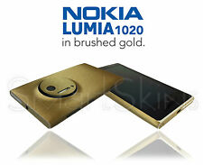 Brushed Metal Skin For NOKIA LUMIA 1020 Wrap Cover Sticker Protector decal Case