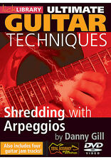 Lick Library Ultimate Guitar Technique SHREDDING WITH ARPEGGIOS Video DVD Lesson