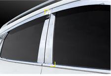 New Chrome B Pillar Cover Guard Molding Trim K847 for Kia Soul 2008 - 2013