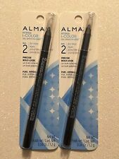 Lot of 2, Almay Intense I-Color Gel Smooth Liner Eyeliner, 032 Navy!