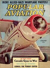 1940s POPULAR AVIATION MAGAZINE 108 issues DVD FLYING early history AIRPLANES v2
