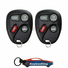 2 Replacement for Chevrolet Monte Carlo - 2001 2002 2003 2004 2005 Remote