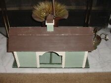 Horse Barn Birdhouse Duplex and Feeder Plans and Instructions Electronic emailed